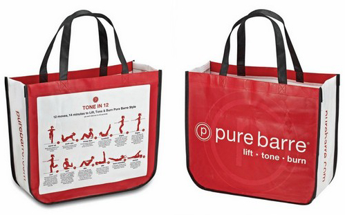 Curved Laminated Reusable Shopping Bag, Laminate Bags, Plastic ...